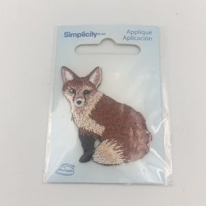 Simplicity Fox Sewing Patch